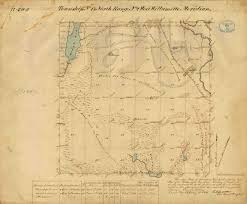 Montana Cadastral Map by Jesse Ferguson Tumwater Pioneer