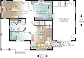 country house plan country house plan with separate dining and living rooms
