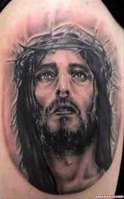jesus head with small eyes tattoo tattoo viewer com