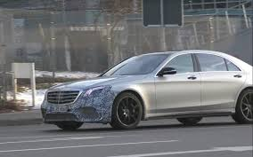 future mercedes s class 2018 mercedes amg s65 facelift shows new front end in spy video