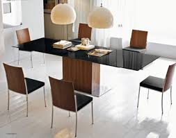 Black Glass Extending Dining Table Calligaris Park Glass Extendable Dining Table