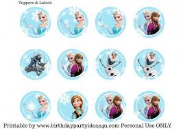 free frozen party printable birthday party ideas u0026 themes
