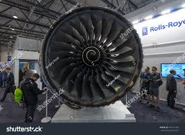 rolls royce jet engine berlin germany june 01 2016 turbofan stock photo 441417166