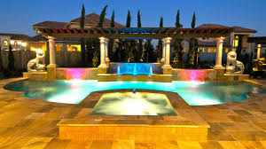 Pool Design Pictures by Signature Project Lions Fountain By Custom Design Pools