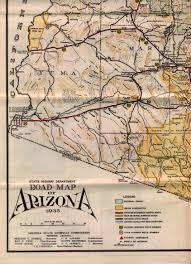 Old Route 66 Map by Maps
