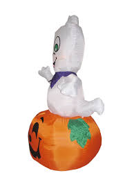 9ft high giant halloween inflatable pumpkin and ghost balloon with