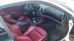Bmw M3 E46 Interior E46 2004 Bmw M3 Alpine White Imola Red Interior Modded Well