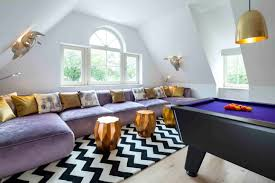 Family Room Decor 19 Purple And Gold Living Room Designs Decorating Ideas Design