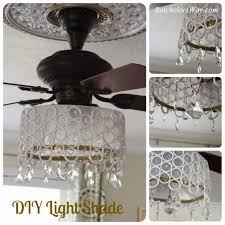 batchelors way diy ceiling fan chandelier diy home decor