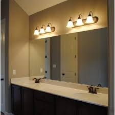 Bathroom Vanities Lights by Bathroom Bathroom Vanity Lights Lowes 4 Light Brushed Nickel