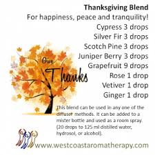 gratitude and thanksgiving west coast institute of aromatherapy