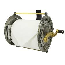 Hanging Toilet Paper Holder Fishing Reel Toilet Paper Holder American Expedition