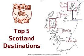 Map Of Glasgow Scotland Top 5 Scotland Destinations To Include On Your Itinerary