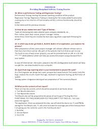 Manual Testing Resume Samples by Manual Testing Interview Question By Infotech