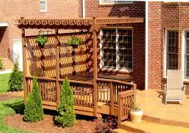 Deck Pergola Pictures by Garden Landscaping Garden Pergolas Images