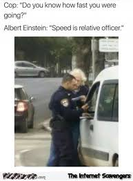 Speeding Meme - when einstein gets fined for speeding funny meme pmslweb