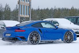 porsche cold weather new 911 gt2 rs spotted by car magazine