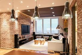 stylish laconic and functional new york loft style interior