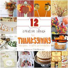 12 creative thanksgiving ideas