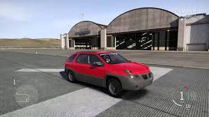pontiac aztek red forza motorsport 6 pontiac aztek stoppie youtube