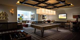 Pool Table In Living Room Home Design Stunning Basement Room Ideas For Contemporary