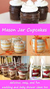 jar baby shower ideas jar cupcakes easy diy cupcakes and cake in a jar recipes