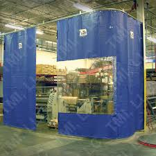 Plastic Sheet Curtains Industrial Curtains Warehouse Curtain Walls Partitions Tmi Llc