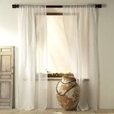 Ivory Linen Curtains Impressive Inspiration Ivory Sheer Curtains Window