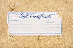 vacation gift cards vacation gift certificate stock photos royalty free pictures