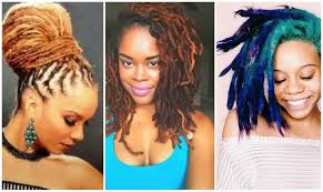colored dreadlock hairstyles for black women youtube