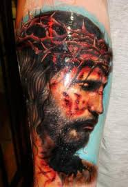 truly amazing 3d cross tattoo on forearm in 2017 real photo
