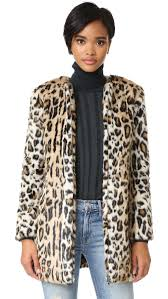 cupcakes and cashmere elvina faux fur leopard coat shopbop