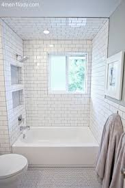 great tile bathrooms subway tile bathroom this bathroom has a lot of great storage