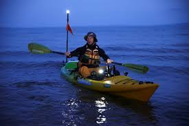 Viking Kayaks Australia Be Seen On The Water At Night With Good
