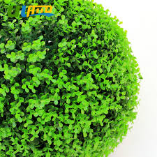 online shop uland light green artificial boxwood balls faux tree