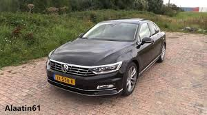 volkswagen passat black interior 2017 volkswagen passat r line start up pov drive in depth