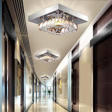 led beleuchtung flur aliexpress moderne led kristall deckenleuchte platz führte
