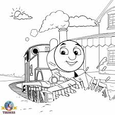 station thomas tank engine printable christmas coloring sheets