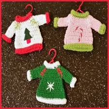 mini pullover miniature sweater ornament great by chocolatelaces