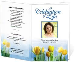 Sample Of Funeral Programs Doc 550473 Examples Of Funeral Programs U2013 Sample Funeral Program