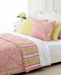 pink and green comforters beautiful pink decoration