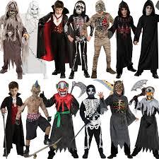 Scary Halloween Costumes Kids Boys Halloween Mask Scary Fancy Dress Costume Movie Kids
