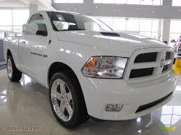 Dodge Ram White - 2011 dodge ram 1500 sport r t regular cab in bright white photo 4