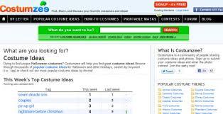 Halloween Costumes Sites 10 Sites Free Halloween Costume Ideas