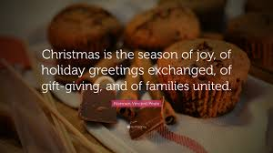 norman vincent peale quote u201cchristmas is the season of joy of
