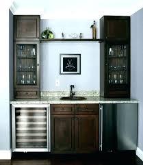 small wet bar sink bar fridge cabinet small wet bar sink wet bar fridge medium size of