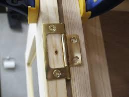 Installing Interior Door Hinges Cabinet Door Hinges Non Mortise Tips Installing Cabinet Door