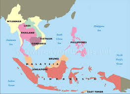 south asia countries map south east asia country map major tourist attractions maps