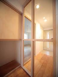 making use of sliding door for bedroom home interior design ideas