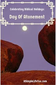 celebrating biblical holidays day of atonement inspirational